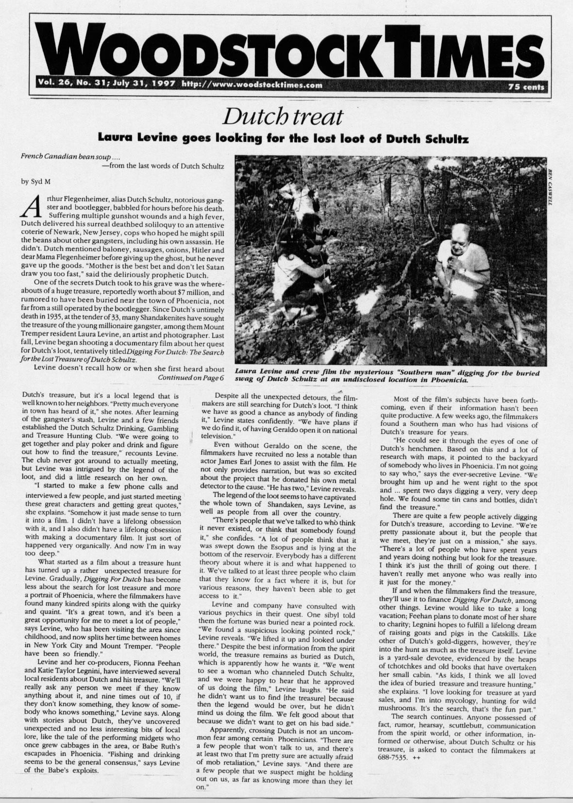 laura levine film press