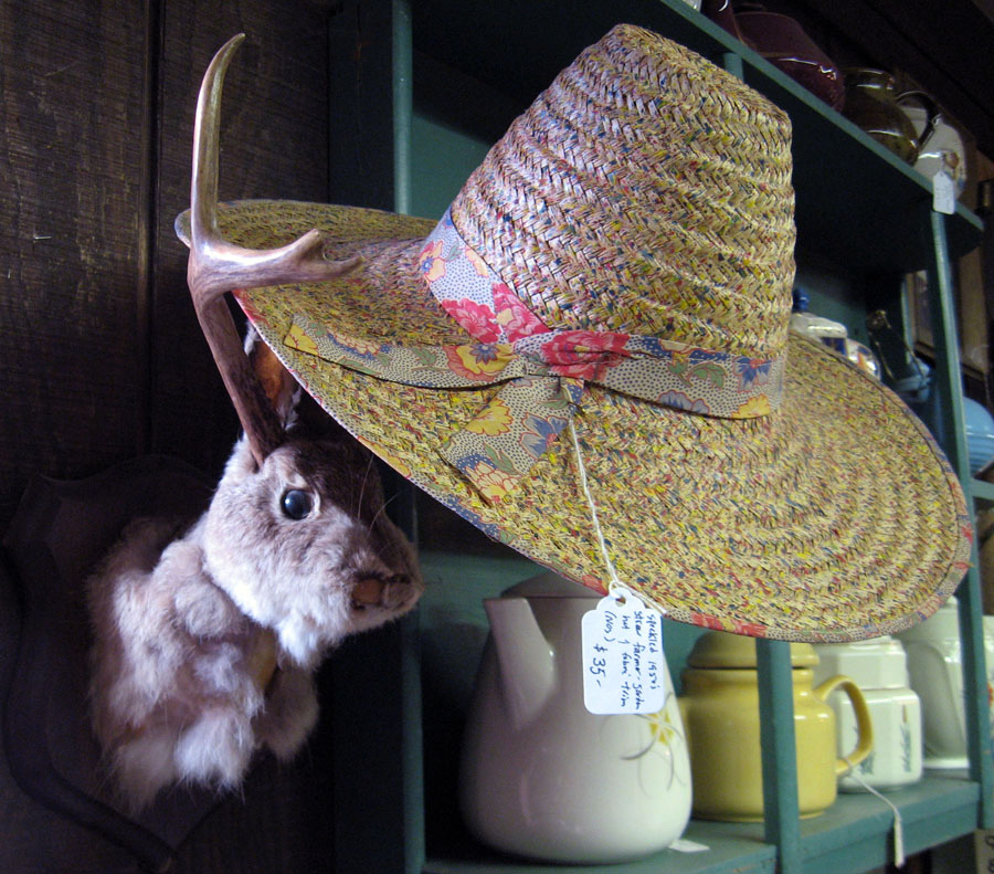 Not Your Usual Garden Variety Gardening Hats Mystery Spot Vintage