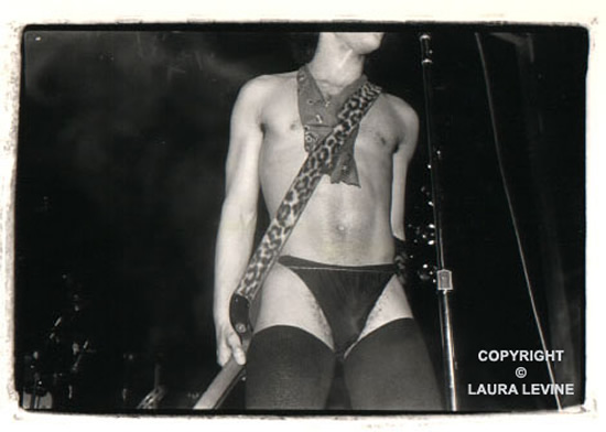 Prince  (1981, NYC) © Laura Levine